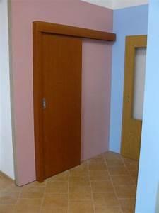Montáž posuvných dveří do pouzdra