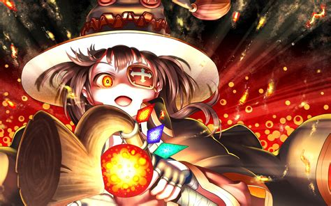 Wallpaper Anime - megumin anime 4k wallpapers hd wallpapers id 17113
