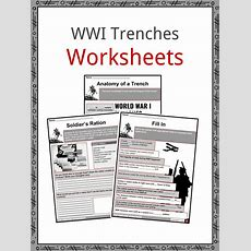 World War I Trench Facts, Worksheets & Life In Trenches