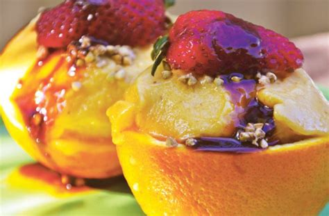vegan fruit dessert recipes fresh fruit sundaes recipe vegan healthy dessert ideas nourish magazine australia
