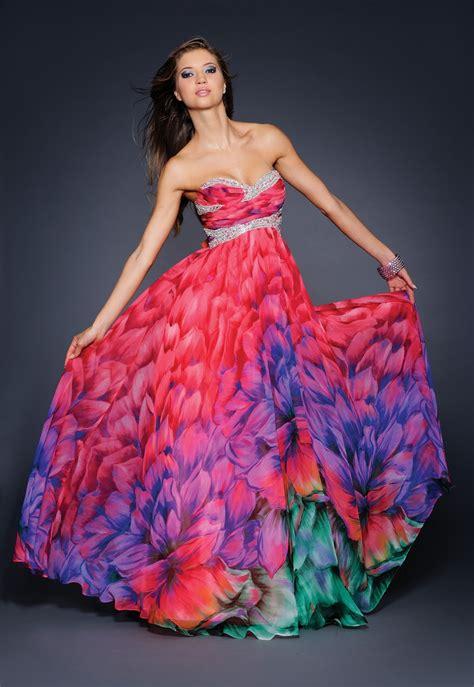 blog  wedding  occasion wear print long dresses