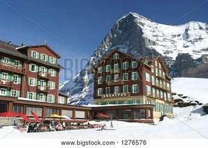 Bellevue Des Alpes : hotel bellevue des alpes eiger image photo bigstock ~ Orissabook.com Haus und Dekorationen