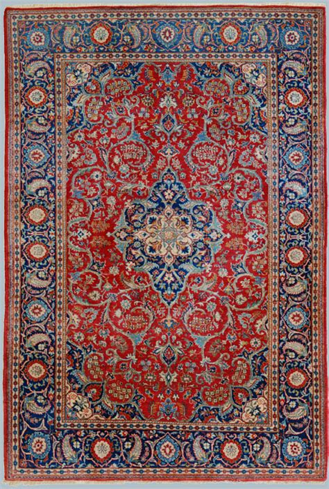 Tappeti Persiani Kashan Kashan Antico Rosso Tappeto Epoca Dabir Morandi Tappeti
