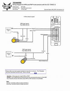 Wiring Diagram For Npn And Pnp 4 Wire Sensors And D2