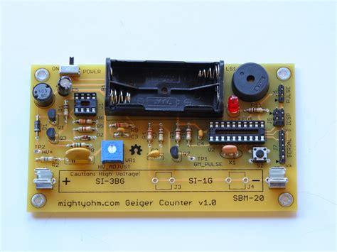 Geiger Counter Kit Make