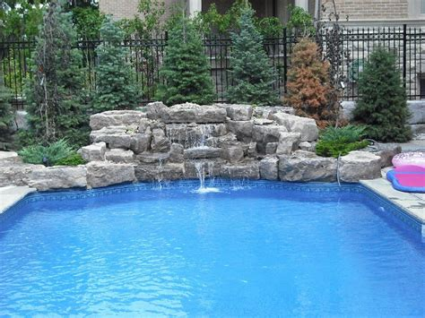swimming pool waterfalls pictures the waterfall specialists the leone family