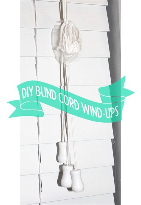 blind cord safety diy upcycled blind cord wrap ups upcycled home