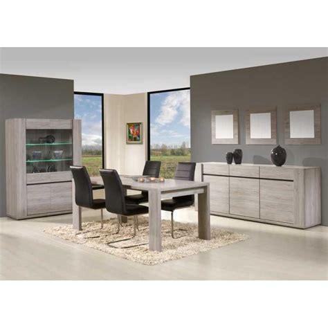 salle a manger complete grise argentier 2 portes avec salle 224 manger compl 232 te coloris ch 234 ne gris 233