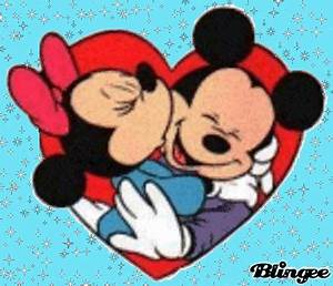 mickey love minnie Picture #130321152 | Blingee.com