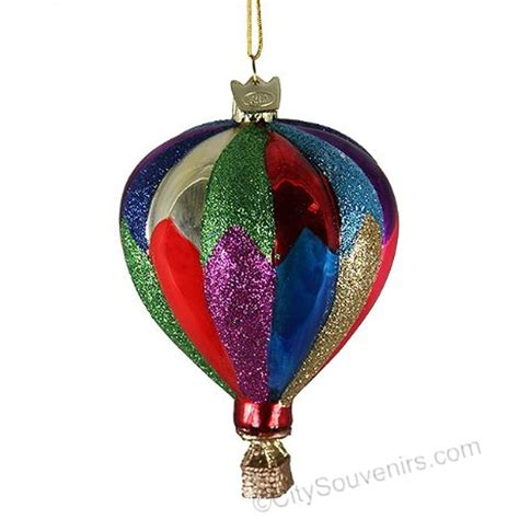 hot air balloon christmas ornament traditional
