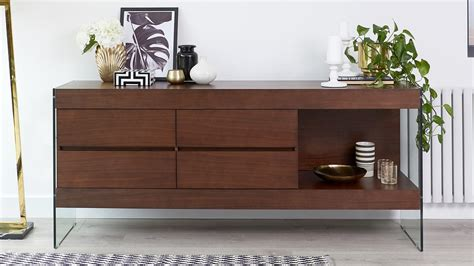 Darkwood Sideboard by Espresso Wood Sideboard Storage Funky Tempered