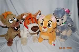 Disney Oliver & Company Plush Lot Tito Georgette Dodger | eBay