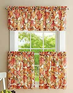 wedding registry for tools autumn leaves valance and curtain set home