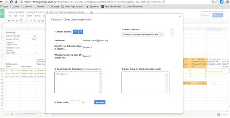 google forms  flubaroo sms media resource center