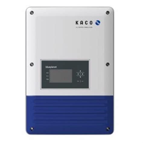kaco blueplanet  tl kaco solar inverter europe