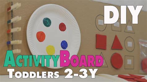 diy activity board ideen fuer kleinkinder von ca