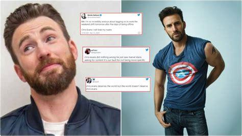 Chris Evans aka Captain America accidentally shares a nude ...