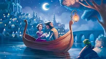 Disney Tangled Rapunzel Wall Wallpapers Princesses Mural