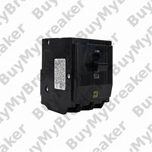 Square D Qo3251021 3 Pole 25 Amp 240v Circuit Breaker
