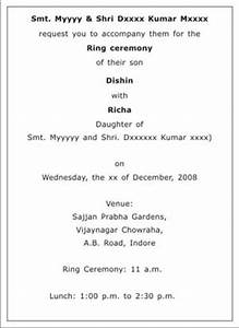 Engagement Ceremony Invitation Wordings Engagement