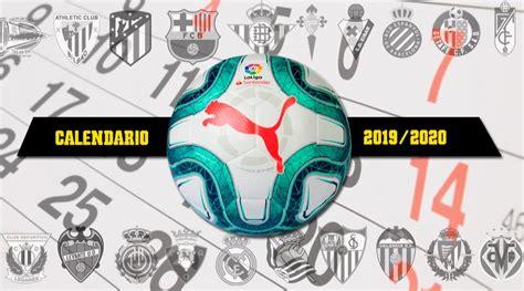 calendario liga espanola fixture almanaque
