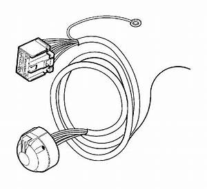 Volvo V70 Wiring Harness  Cable Harness Towbar  7 Pole  Ch
