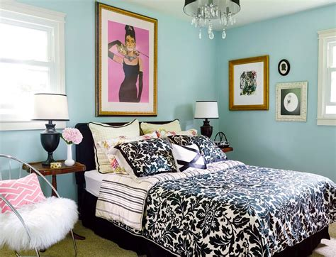 glamorous bedrooms on a budget decor eclectic decorating ideas for small spaces