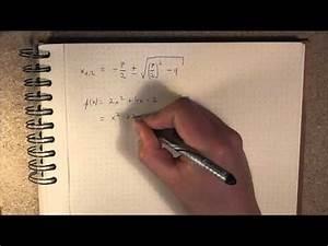 Nullstellen Berechnen Ausklammern : nullstellen und die p q formel doovi ~ Themetempest.com Abrechnung
