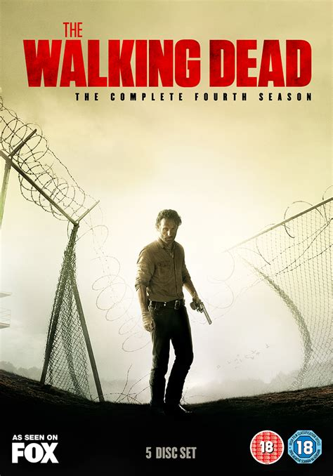 walking dead season dvd complete fourth blu ray series september disc pre