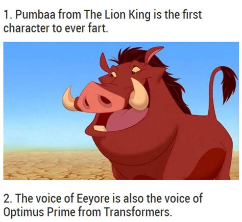 surprising facts  disney movies  pics izismilecom