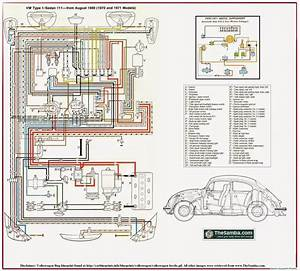 1974 Type 1 Vw Beetle Wiring Diagram