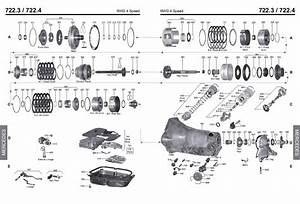 Transmission Repair Manuals 722 3  722 4