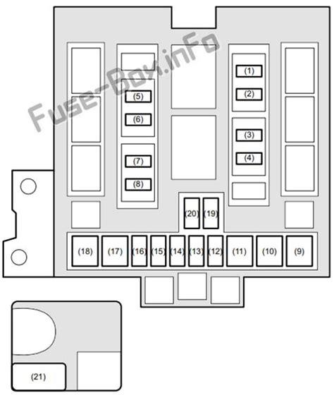 fuse box diagram suzuki grand vitara jt