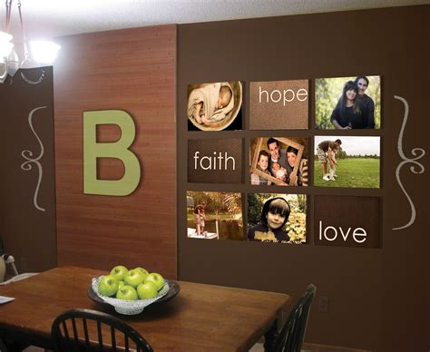 Painting Ideas For Kitchens - cheap wall decor ideas together with large kitchen wall decor within how to decorate a large
