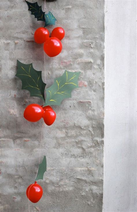 holly berry balloon garland pictures   images