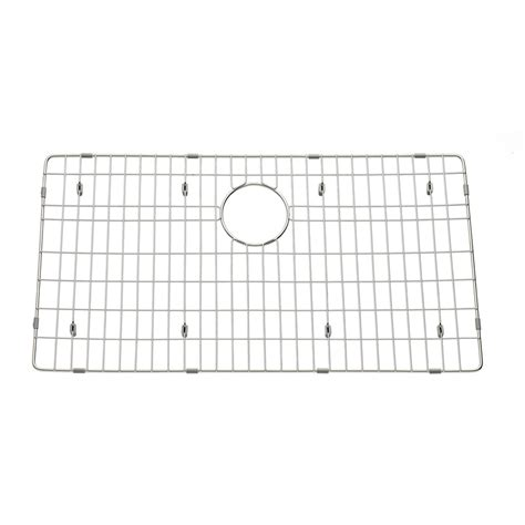 Stainless Steel Sink Grid 29 X 16 by Shop American Standard 29 92 In X 16 26 In Sink Grid At