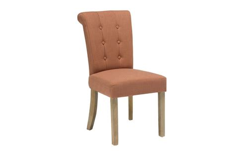 tristan orange dining chair