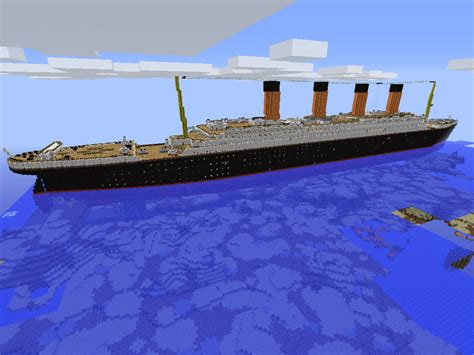 Minecraft Boat Titanic by The Gallery For Gt Titanic Wreck Grand Staircase