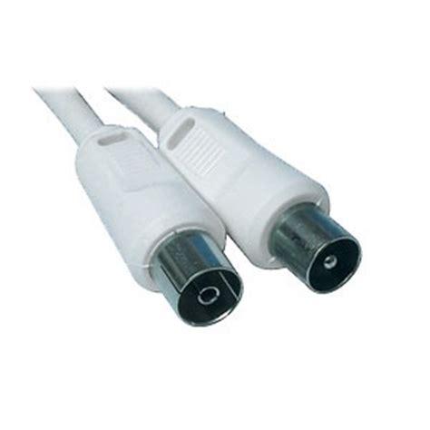 cable tv antenne c 226 ble coaxial m 226 le femelle pour antenne tv 2 5 m 232 tres c 226 ble antenne tv g 233 n 233 rique sur ldlc
