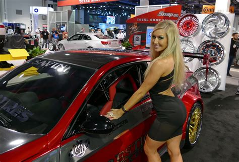 Who Are the Sexiest Women of SEMA 2014? [Poll] - The Fast ...