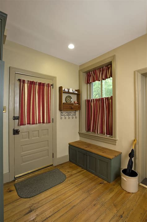 Kitchen Curtains And Valances Ideas - chic doormat mode philadelphia victorian entry decorating ideas with baseboards cafe curtains