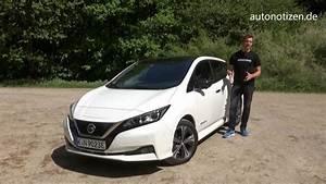 Nissan Leaf 2018 60 Kwh : nissan leaf 2 2018 elektroauto 40 kwh fahrbericht testfahrt review youtube ~ Melissatoandfro.com Idées de Décoration
