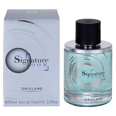 oriflame signature zoom eau de toilette for 2 5 oz notino