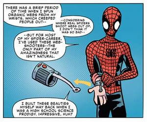 The New Spider-Man Won't Create His Own Web Shooters ...