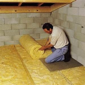 Pose Laine De Verre 2 Couches : isoler le sol du grenier avec de la laine d roul e ~ Melissatoandfro.com Idées de Décoration