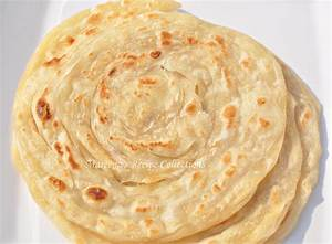 Kerala Porotta or Parotta (Layered Flat Bread) Recipe