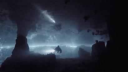 Cave Dark Exploring Diving Center Fill