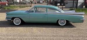 1959 Oldsmobile Dynamic 88 Sedan Green Rwd Manual