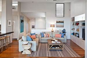 Beach House - Contemporary - Family Room - brisbane - by