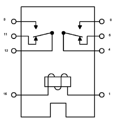 Godown Wiring Diagram Pdf by What Do The 8 Pins On My Shinmei Rsb 5 S Dpdt Relay Do